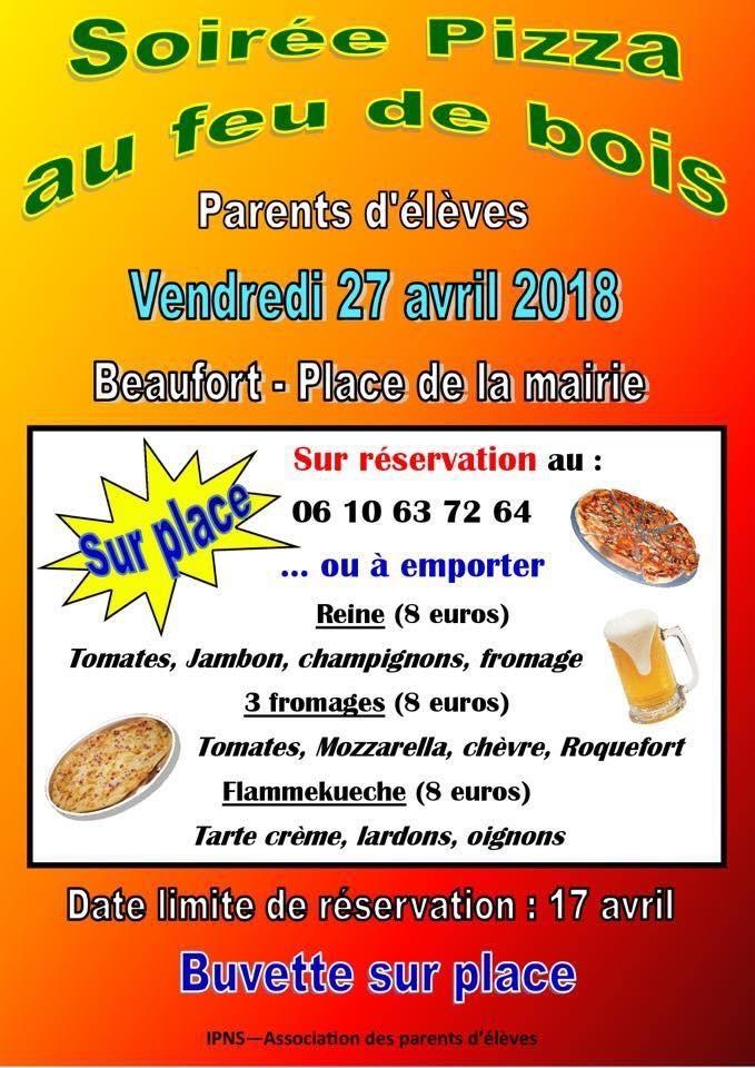 Vente de pizzas au feu de bois @ Salle d'activités et halles mairie  | Beaufort | Bourgogne Franche-Comté | France