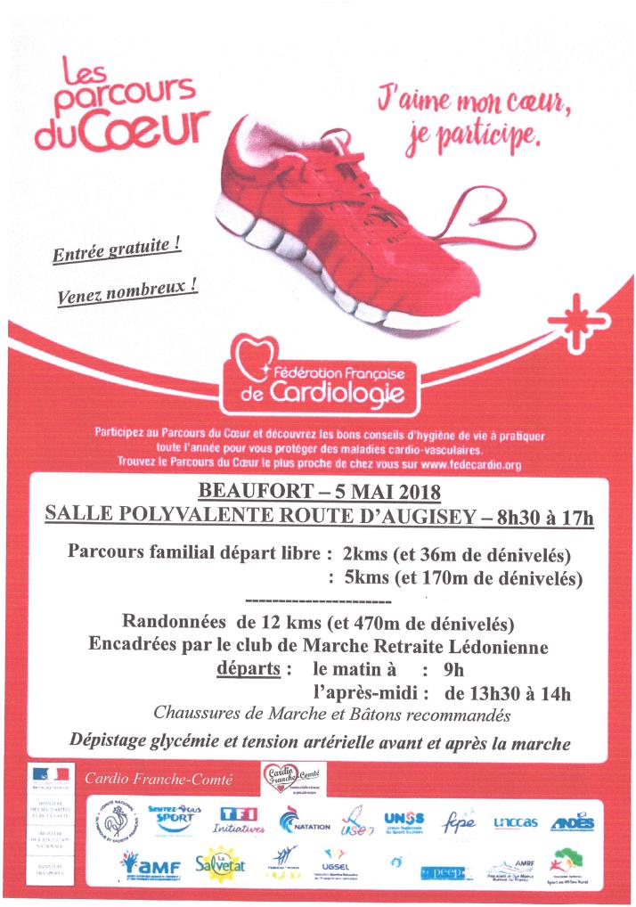 Marche du Cœur @ Salle polyvalente | Beaufort | Bourgogne Franche-Comté | France