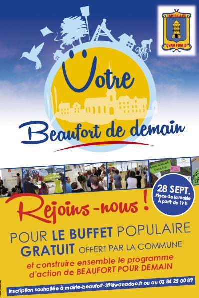 """Soirée festive """"Votre Beaufort pour demain"""""""